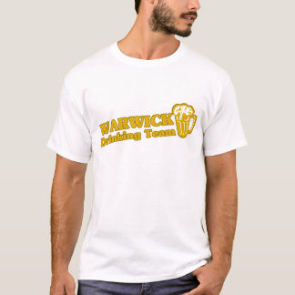 Warwick Drinking Team tee shirts