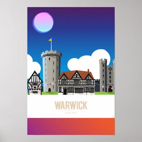 Warwick, England Poster