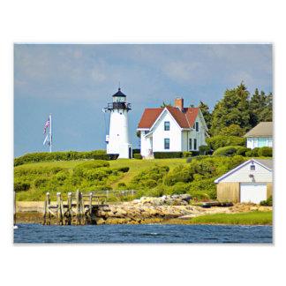 Warwick Neck Lighthouse, Rhode Island Photo Print