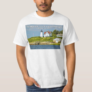 Warwick Neck Lighthouse, Rhode Island T-Shirt