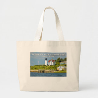 Warwick Neck Lighthouse, Rhode Island Tote Bag