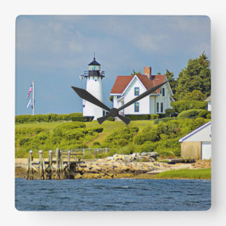 Warwick Neck Lighthouse, Rhode Island Wall Clock