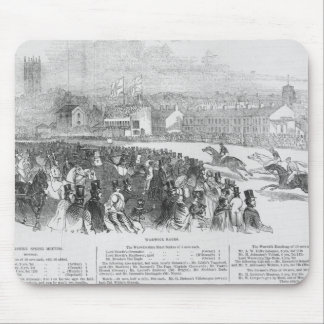 Warwick Races, from 'The Illustrated London Mouse Pad