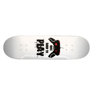 Was born to Play skateboard, 21.6cm Skate Deck
