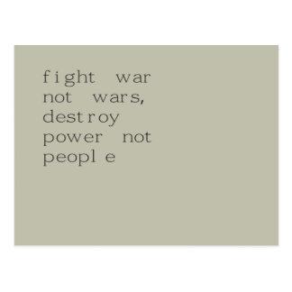 was fight emergency was it postcard