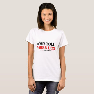 Was mad. Call readiness Christmas T-Shirt