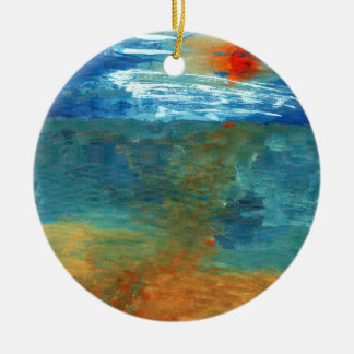 Was Sea Ceramic Ornament