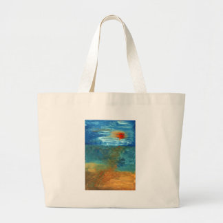 Was Sea Large Tote Bag