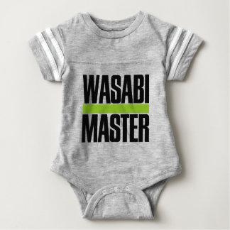 wasabi master baby bodysuit