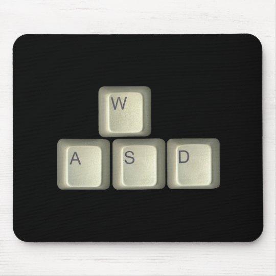 WASD Keys Mouse Pad