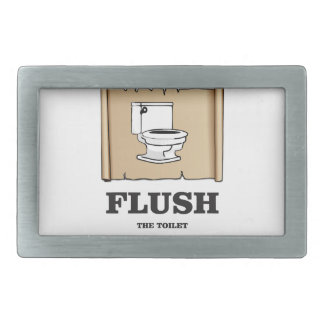 wash rules paper bathroom belt buckles