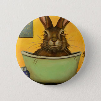 Wash Your Hare 2 Inch Round Button