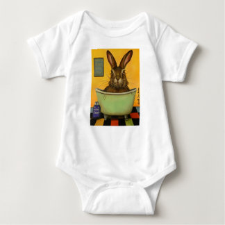 Wash Your Hare Baby Bodysuit