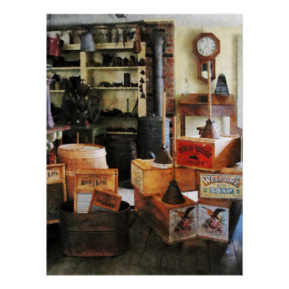 Washboards and Soap Poster