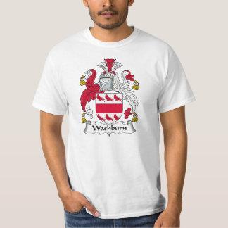 Washburn Family Crest T-Shirt