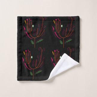 Washcloth black elements eco wash cloth