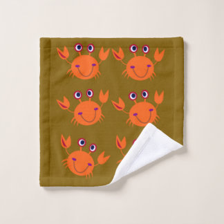 Washcloth crabs cute wash cloth