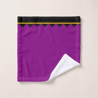 Washcloth Morocco black purple Wash Cloth
