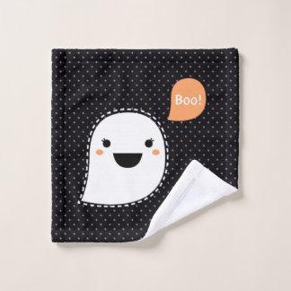 Washcloth with ghost cute boo wash cloth