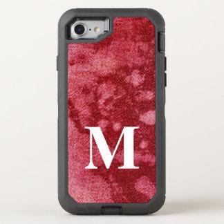 Washed Denim Design #10 @ Emporio Moffa OtterBox Defender iPhone 8/7 Case