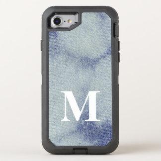 Washed Denim Design #1 @ Emporio Moffa OtterBox Defender iPhone 8/7 Case