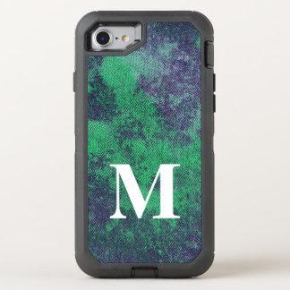 Washed Denim Design #2 @ Emporio Moffa OtterBox Defender iPhone 8/7 Case
