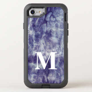 Washed Denim Design #6 @ Emporio Moffa OtterBox Defender iPhone 8/7 Case