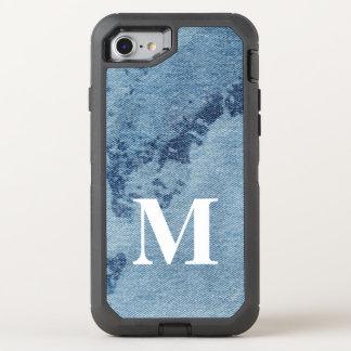 Washed Denim Design #9 @ Emporio Moffa OtterBox Defender iPhone 8/7 Case