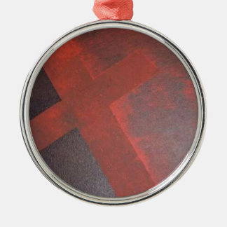Washed in the Blood Metal Ornament
