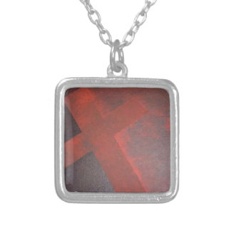 Washed in the Blood Silver Plated Necklace