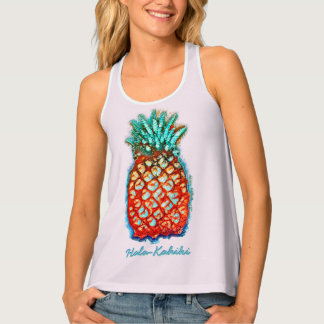 Washed Pineapple Tank Top