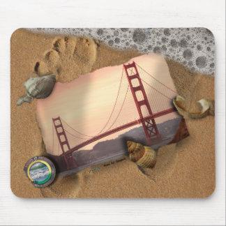 Washed Up Photos Art & Photos Mousepad -GoldenGate