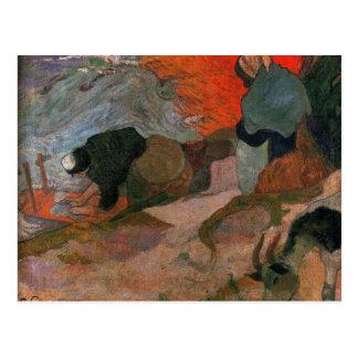 Washerwomen by Paul Gauguin Postcard