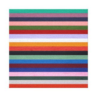 Washi Stripes Canvas Print