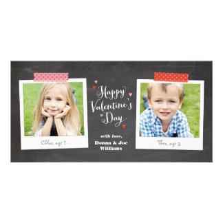 Washi Tape and Chalkboard Photo Card