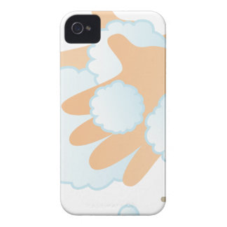 Washing Hands iPhone 4 Case-Mate Case