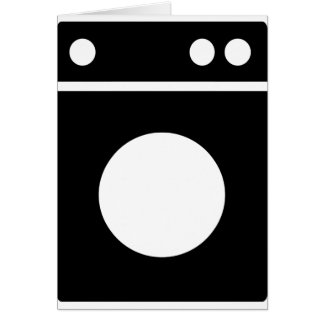 washing machine icon card