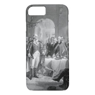 Washington and his Generals_War Image iPhone 7 Case