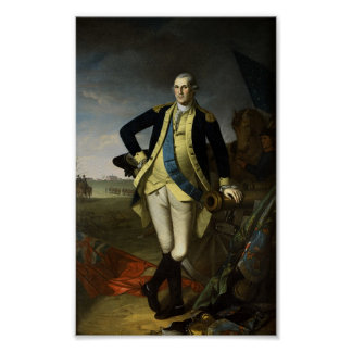 Washington at Princeton Poster