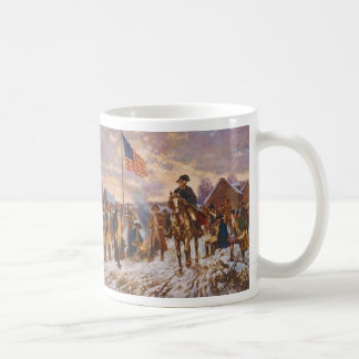 Washington at Valley Forge by Edward P. Moran Coffee Mug