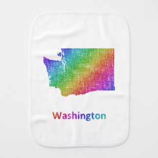Washington Baby Burp Cloths