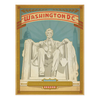 Washington, C.C - Abe Lincoln Cartes Postales