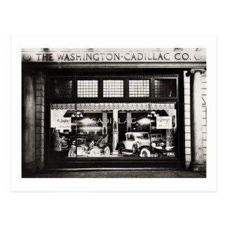 Washington Cadillac Co. 1927 Postcard