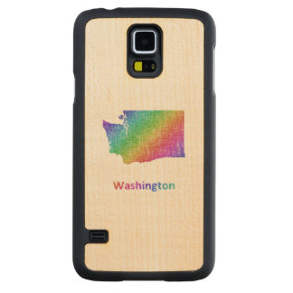 Washington Carved Maple Galaxy S5 Case