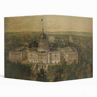 Washington City from New Dome of the Capitol 1857 Binders