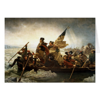 Washington Crosses The Delaware Card