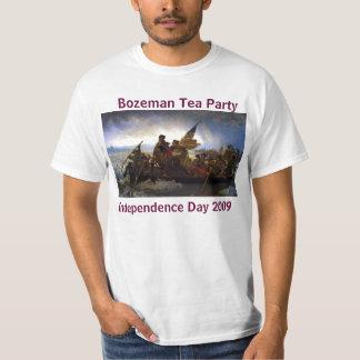 Washington Crossing Deleware, Bozeman Tea Party... T-Shirt