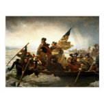 Washington Crossing the Delaware - 1851 Postcards