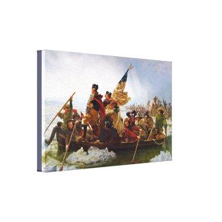 "Washington Crossing the Delaware 20"" x 16"", 1.5"", Canvas Print"