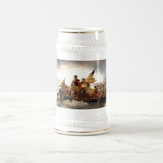 Washington Crossing the Delaware Beer Stein